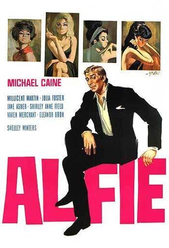 Michael Caine wallpaper probably with anime called Alfie Movie Poster