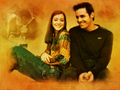 Aly &amp; Nicholas Brendon - alyson-hannigan wallpaper