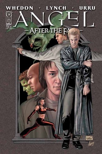 Buffyverse Comics achtergrond with anime called Angel After the Fall