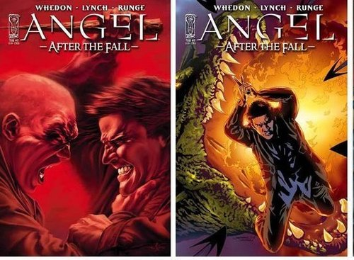 Buffyverse Comics achtergrond with anime titled Angel After the Fall