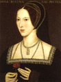 Anne Boleyn, seconde Wife of King Henry VIII of England