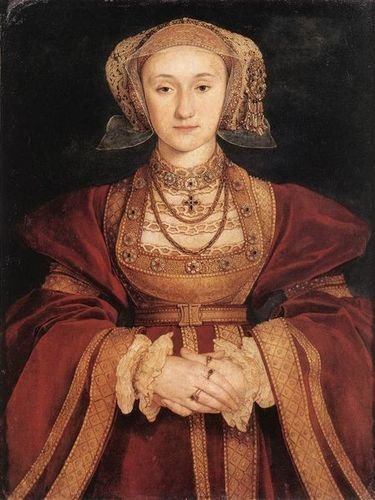 rois et reines fond d'écran possibly with a surcoat, surcot entitled Anne of Cleves, Fourth WIfe of King Henry VIII of England