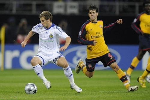 Arsenal vs. Dynamo Kyiv,17 September,2008