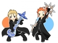 Axel and Demyx- Aww ;)