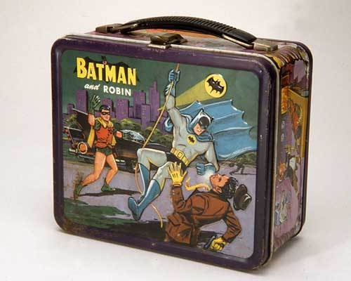 batman and Robin Vintage 1966 Lunch Box