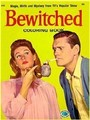 Bewitched vintage colouring book