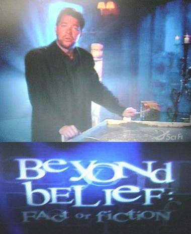 Beyond Belief: Fact or Fiction wallpaper entitled Beyond Belief