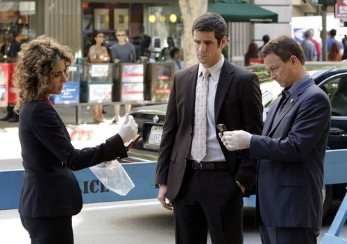 CSI:NY wallpaper containing a business suit called CSI: NY - Episode 5.04 - Sex Lies And Silicone - Promotional Photos