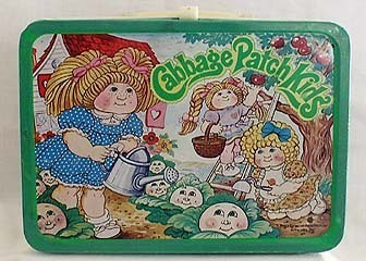 Lunch Boxes 壁紙 titled Cabbage Patch KIds Vintage 1984 Lunch Box