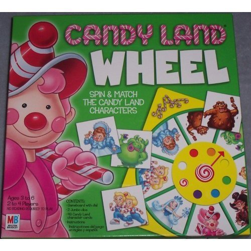 캔디 Land Vintage Wheel Game