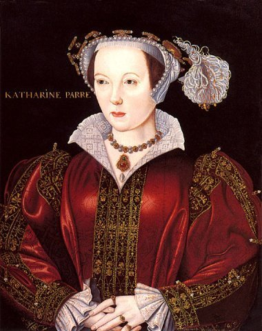 Kings and Queens wallpaper probably with a surcoat entitled Catherine Parr, Sixth Wife of King Henry VIII of England