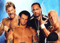 Chris Jericho,CM Punk,MVP,and Kennedy
