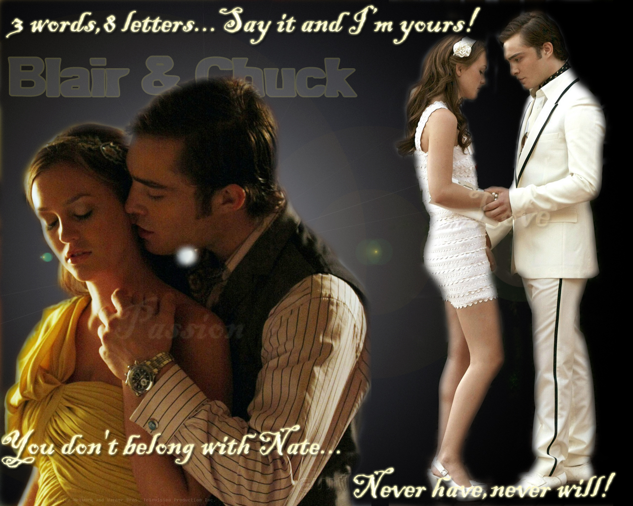 Chuck Bass And Blair W...