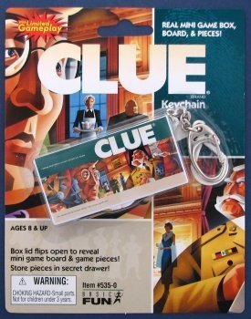 Clue Game Keychain
