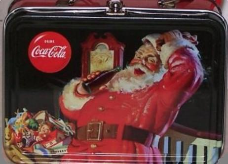 Coca-Cola Santa lunchbox