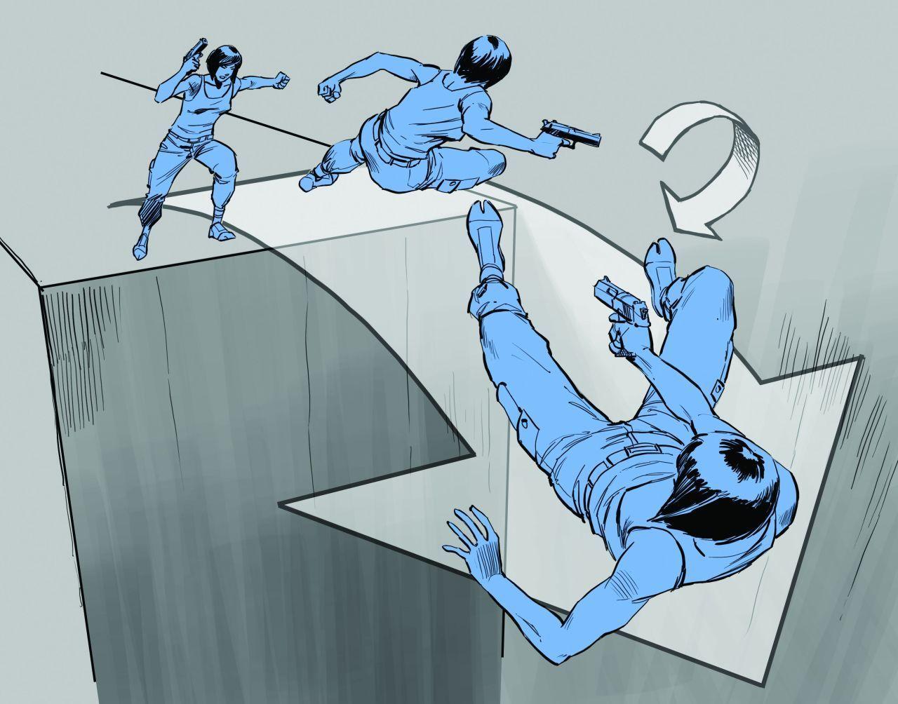Comic/storyboard style