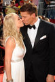 David Boreanaz &amp; wife Jaime Bergman  - bones photo