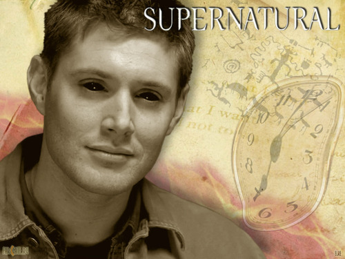 Supernatural wallpaper containing a green beret called Demon Dean