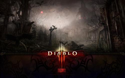 Diablo 3 karatasi za kupamba ukuta