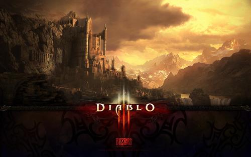 Diablo 3 kertas-kertas dinding