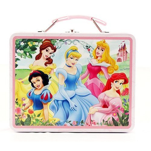 disney Princess Metal Lunch Box