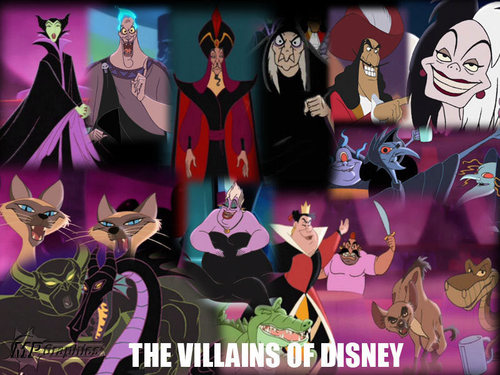 Disney Villains wallpaper entitled Disney Villains
