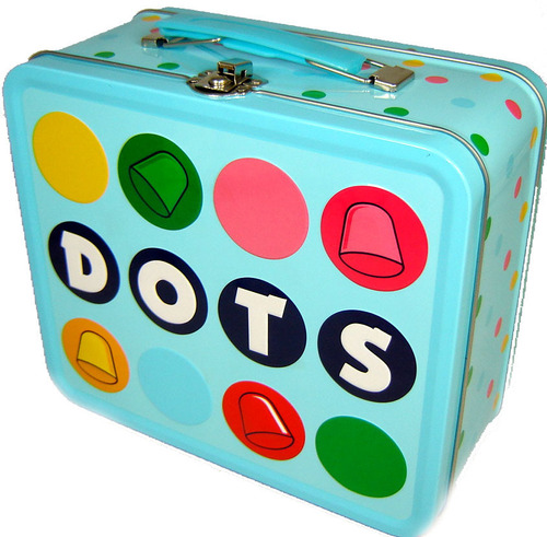 Lunch Boxes karatasi la kupamba ukuta called Dots Lunch Box