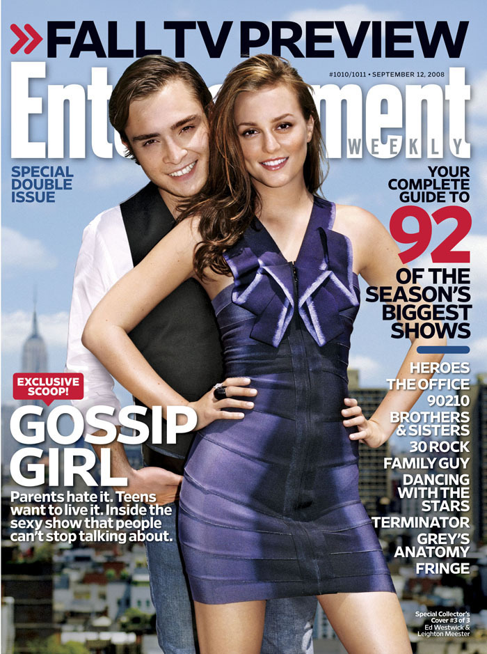 EW September 2008 Cover: Blair and Chuck