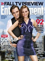 EW September 2008 Cover: Blair and Chuck