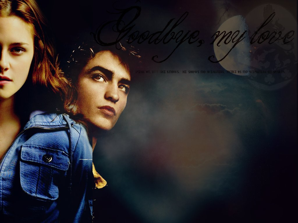 wallpaper twilight edward. Edward amp; Bella Wallpaper