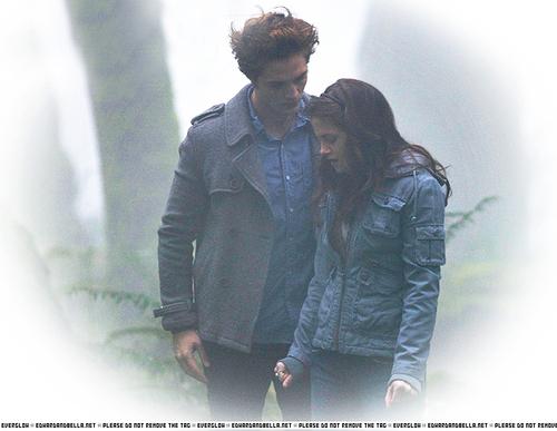 Edward & Bella movie stills