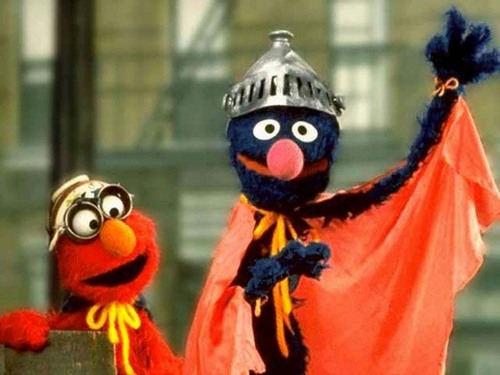 Elmo & Grover - elmo Wallpaper