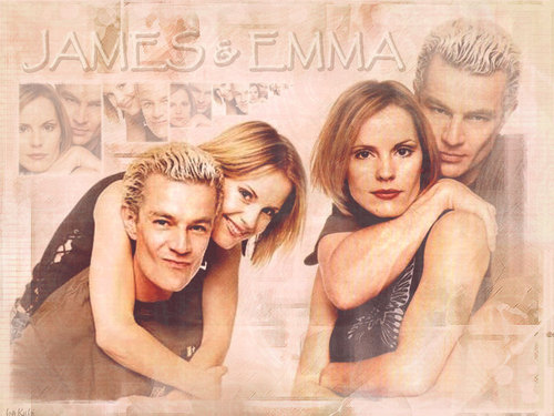 Emma Caulfield & James Marsters