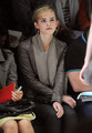 Emma @ Christopher Kane Autumn Winter Fashion Show