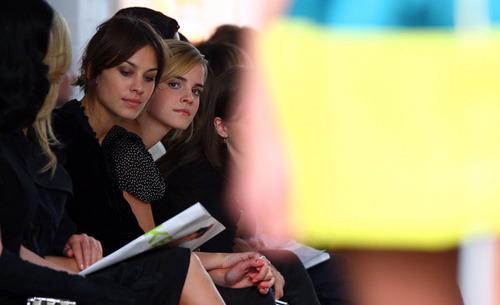 Emma Watson - Fashion Fringe show