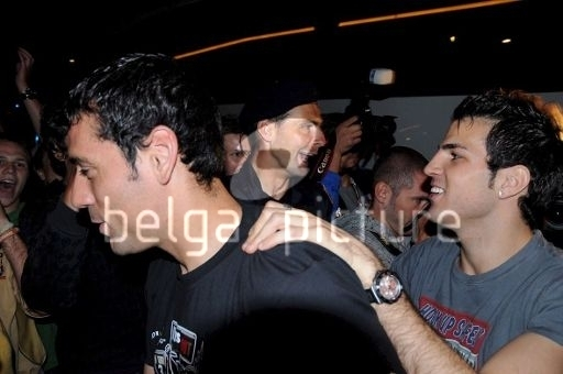 Fabregas clubbing!