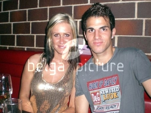 Cesc Fabregas 바탕화면 probably with a portrait called Fabregas clubbing!