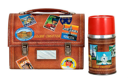 Globe Trotter Lunch Box
