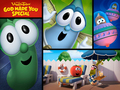 God loves YOU - veggie-tales wallpaper