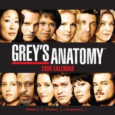 Grey's Calendar - 2009