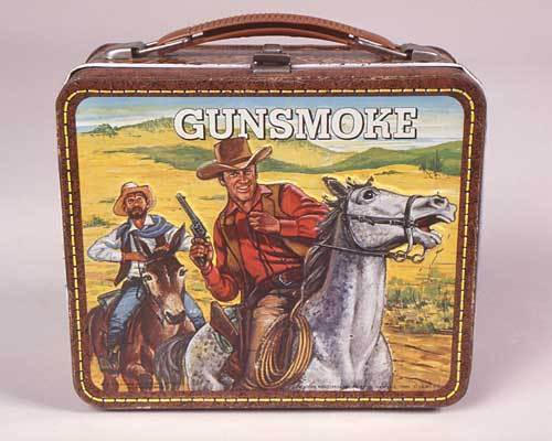 Gunsmoke Vintage 1959 Lunch Box - lunch-boxes Photo