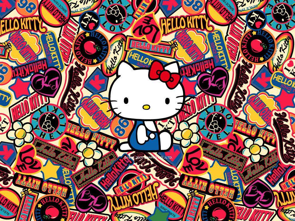 Sanrio hello kitty logos