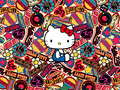 Hello Kitty Logos - sanrio wallpaper