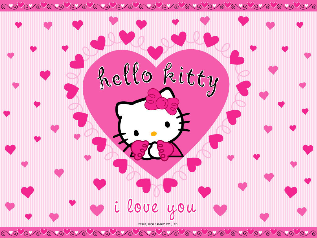 Remarkable Hello Kitty I Love You 1024 x 768 · 210 kB · jpeg