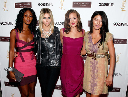 "Henri Bendel & YSL Beaute Celebrate ""Gossip Girl"" Season 2 8-24-08"