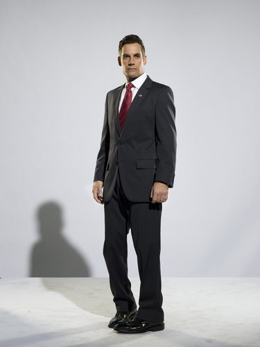 Heroes wallpaper with a business suit, a suit, and a two piece titled Heroes - Season 3 Promo: Adrian Pasdar
