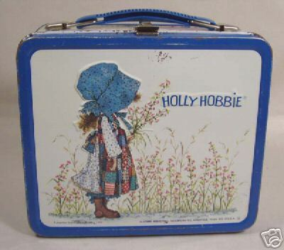 hulst, holly Hobbie vintage lunch box