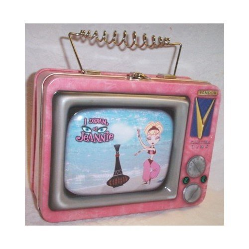 Lunch Boxes wallpaper with a Televisione receiver entitled I Dream of Jeannie TV Lunch Box
