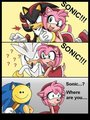 I wonder were Sonic is - sonic-the-hedgehog fan art