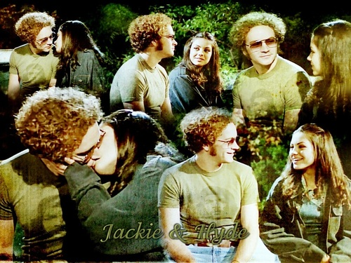Jackie Burkhart wallpaper titled Jackie & Hyde